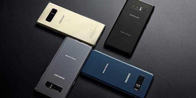 Samsung может показать Galaxy Note 9 уже в начале 2018 (note9 pic)
