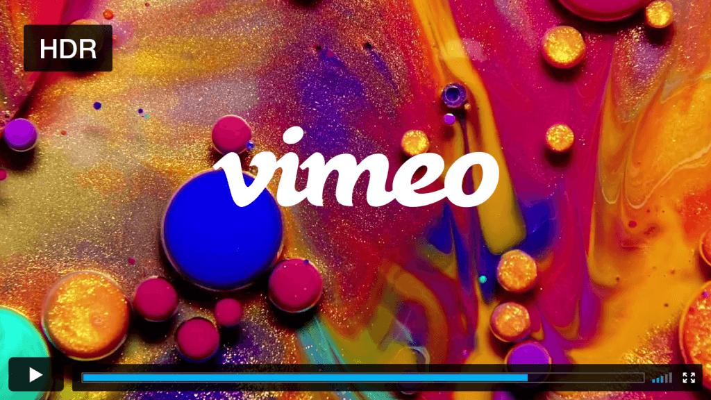 Vimeo теперь поддерживает HDR-видео (vimeo hdr)