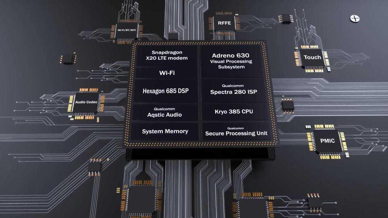 Qualcomm представили Snapdragon 845 (1414329538001 5667753458001 5667737599001 vs)