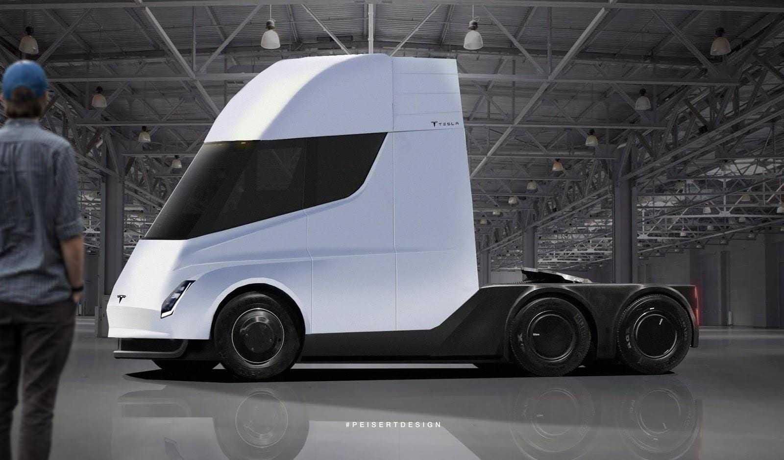 Budweiser сделала крупные заказ на грузовики Tesla Semi (Tesla Semi Truck)