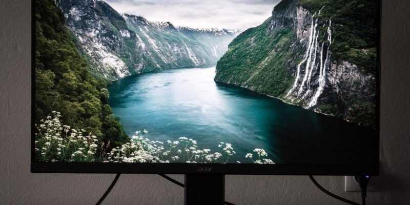 Обзор монитора Acer ProDesigner BM320 (acer 320YaM16)