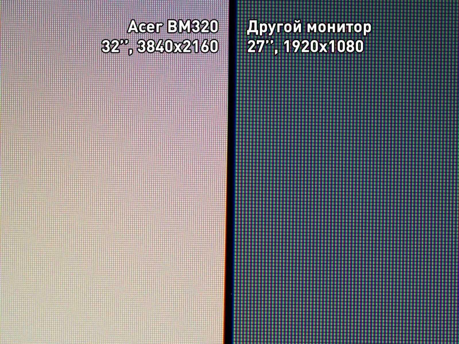 Обзор монитора Acer ProDesigner BM320 (acer 320YaM26)