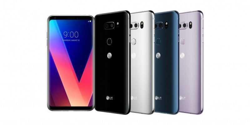 LG начали продавать в России флагман V30+ (lg v30 range)
