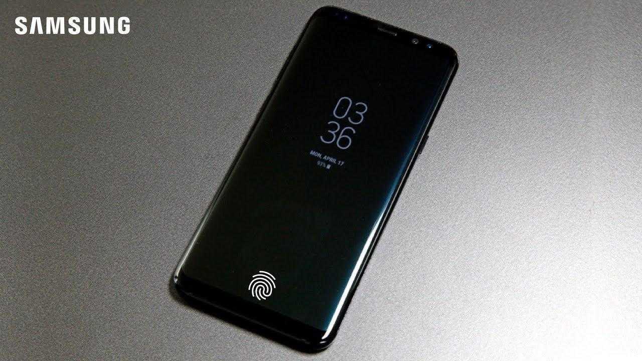 Одна из моделей Samsung получит наэкранный сканер отпечатков пальцев? ()