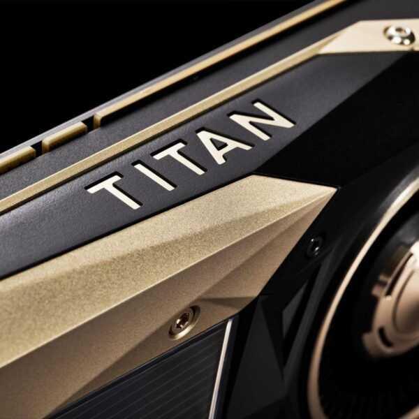 Nvidia анонсировала видеокарту Titan V за 2999 долларов (nvidia titan v gallery d)