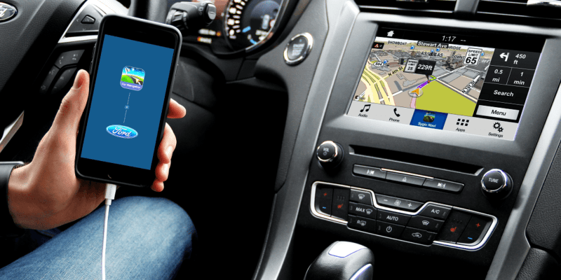 CES 2018: Sygic добавила алкотестер в навигатор (03 Ford Car connectivity)