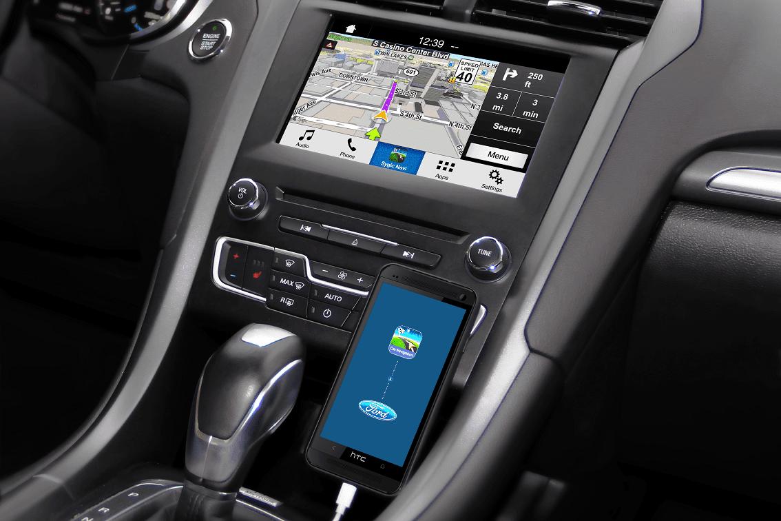 CES 2018: Sygic добавила алкотестер в навигатор (04 Ford Car connectivity aOS)