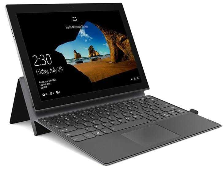 CES 2018: Lenovo показала новые ноутбуки Miix и ThinkPad (Miix 630 5)