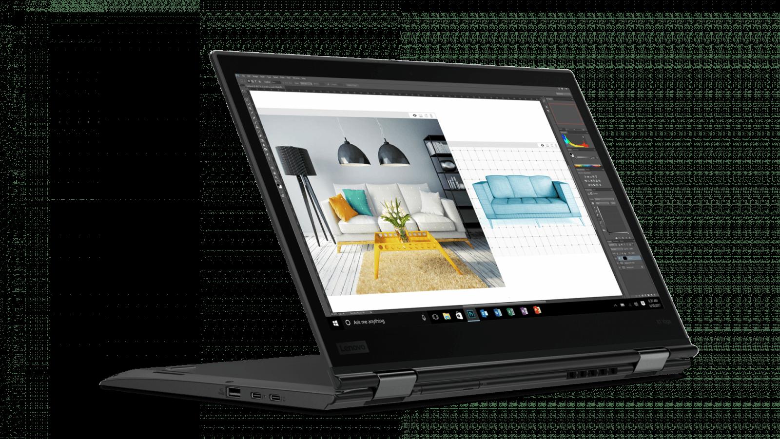 CES 2018: Lenovo показала новые ноутбуки Miix и ThinkPad (ThinkPad X1 Yoga Black 1)