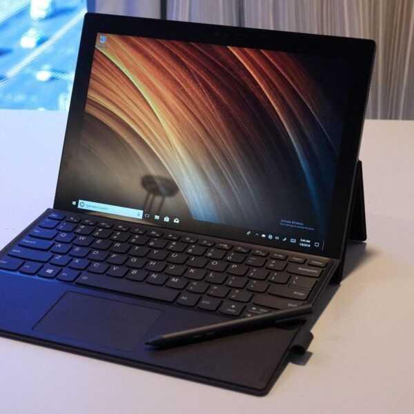 CES 2018: Lenovo показала новые ноутбуки Miix и ThinkPad (cqyjbys1gbdrsheonn7j)