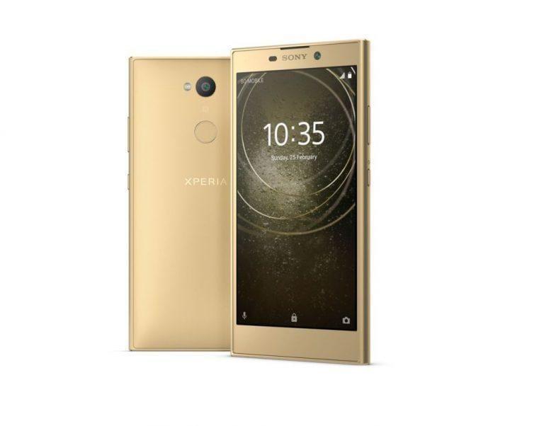 CES 2018: Sony представила три недорогих смартфона (sony xperia l2 09)