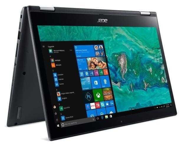 CES 2018: Acer обновила три своих популярных ноутбука (spin 3 04)