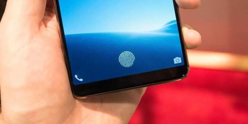 CES 2018: Vivo показали смартфон с подэкранным сканером отпечатков пальцев (vivo in display fingerprint sensor 2)