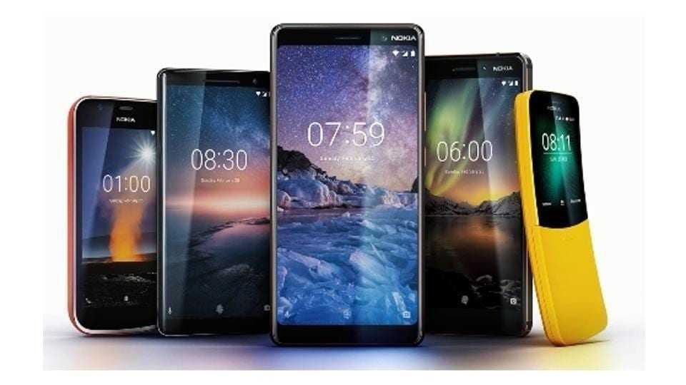 MWC 2018. Nokia выпустила 5 новых смартфонов (538ed562 1a41 11e8 80b7 5f600041ef82)