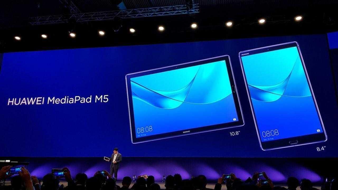MWC 2018. Huawei представил новый MateBook X Pro и планшет MediaPad M5 (7)