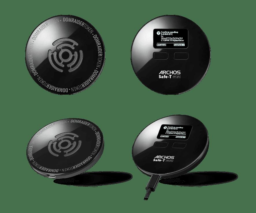 MWC 2018. Archos представил Safe-T mini: первое устройство для хранения криптовалютных кошельков (Archos Safe T mini)