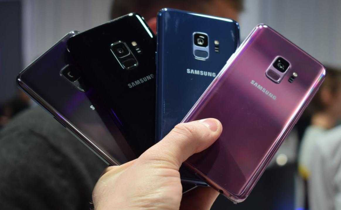 MWC 2018. Samsung показал Galaxy S9 и S9+ (Samsung Galaxy S9 Hands On AH 18 e1519638343525)