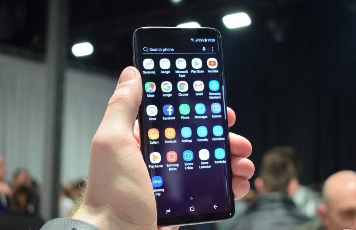 MWC 2018. Samsung показал Galaxy S9 и S9+ (Samsung Galaxy S9 Hands On AH 5 e1519638328784)
