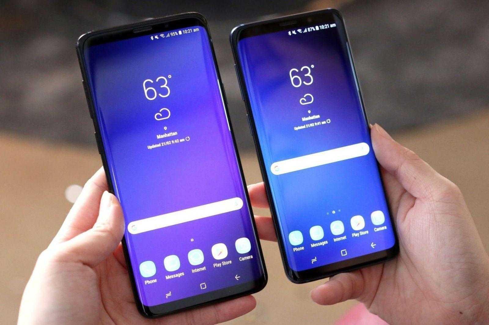 MWC 2018. Samsung показал Galaxy S9 и S9+ (Samsung Galaxy S9 i Galaxy S9 MWC 2018 3)