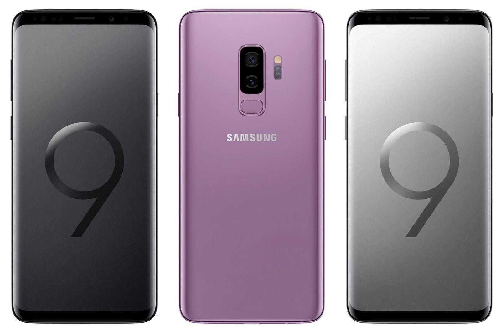 Samsung Galaxy S9 на MWC 2018