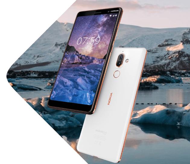 MWC 2018. Nokia выпустила 5 новых смартфонов (nokia 7 plus 5)
