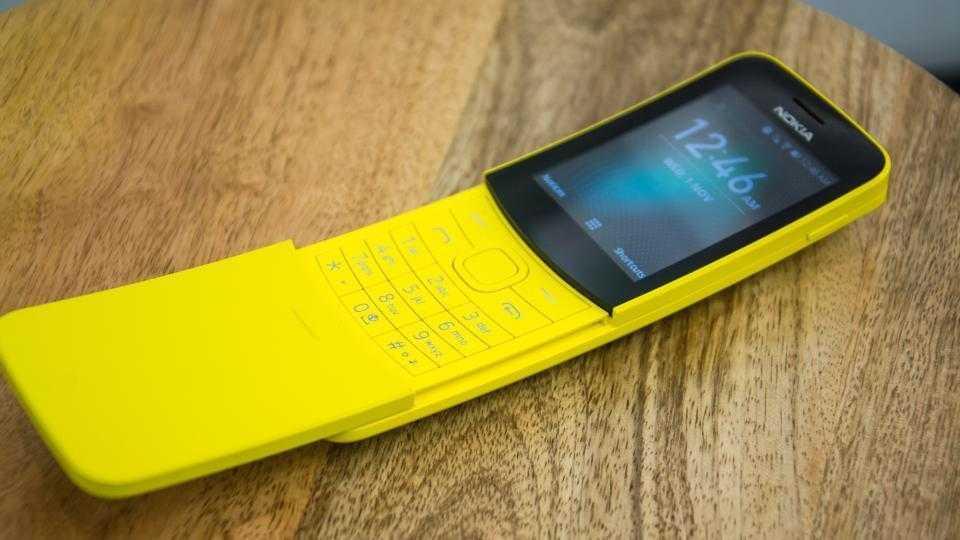 MWC 2018. Nokia выпустила 5 новых смартфонов (nokia 8110 4g 5 0)