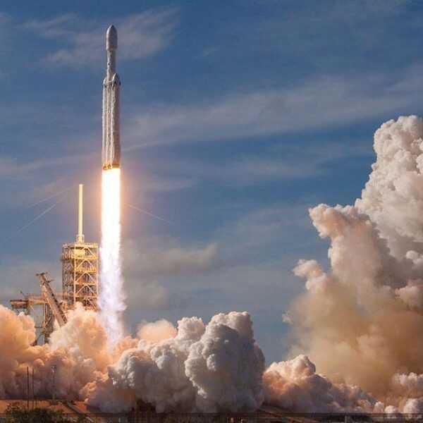 Запуск года: SpaceX отправила в космос Falcon Heavy (spacex 3)