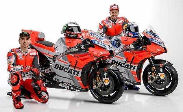 Lenovo стала техническим партнёром команды Ducati Moto GP (011518 2018 ducati motogp team f)