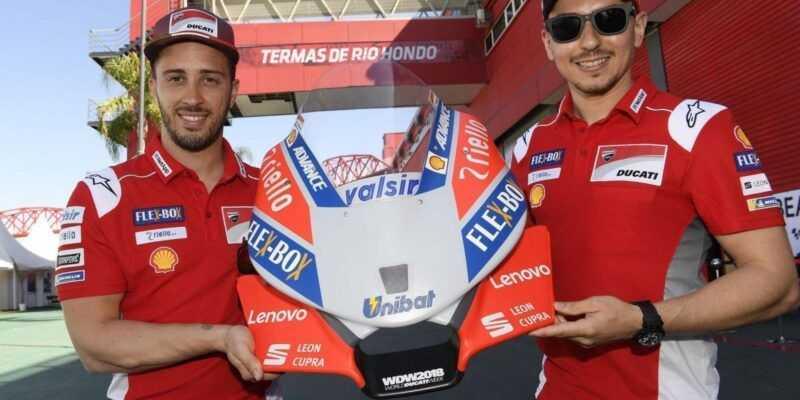 Lenovo стала техническим партнёром команды Ducati Moto GP (Ducati Announcement)