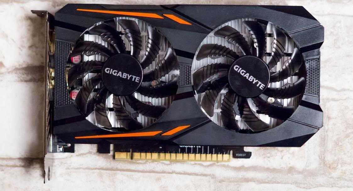 Gigabyte GTX 1050 2GB 3