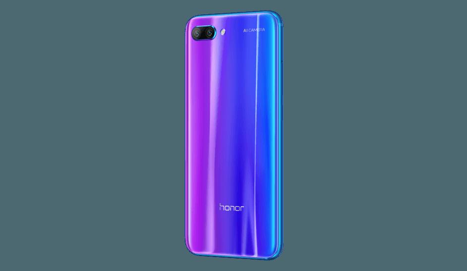 Huawei представил Honor 10 с функциями искусственного интеллекта (Honor 10 Phantom Blue 7)