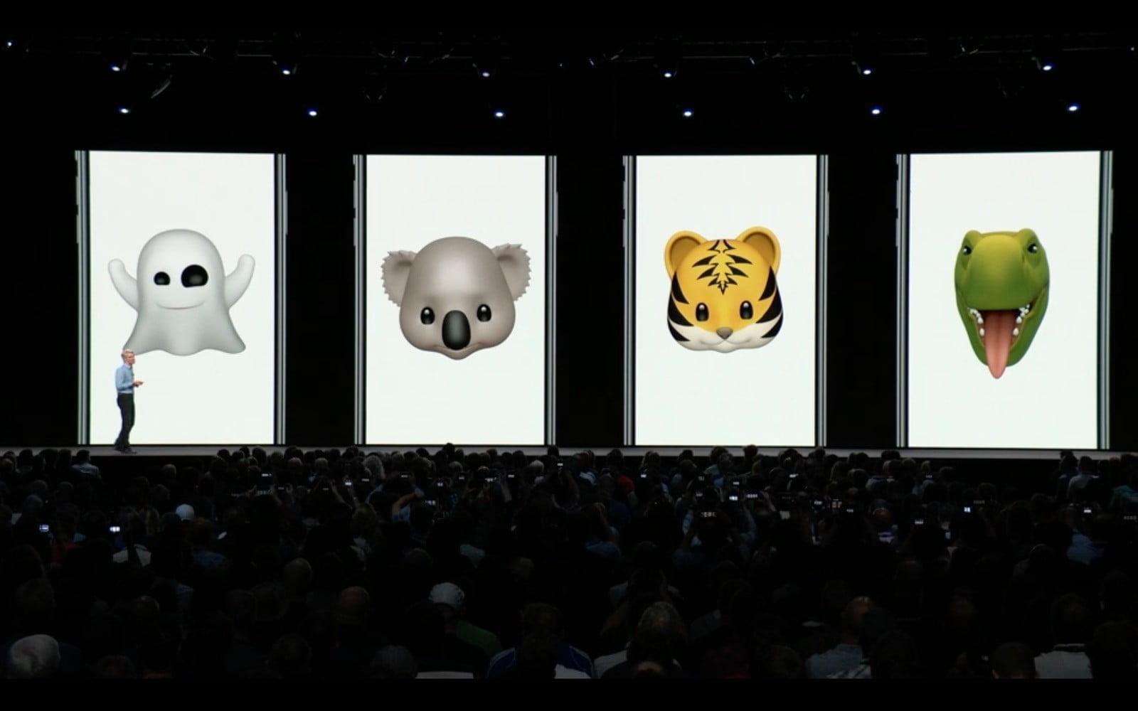 WWDC 2018. Apple представила новую быструю iOS 12. Все изменения (animoji ios 12)