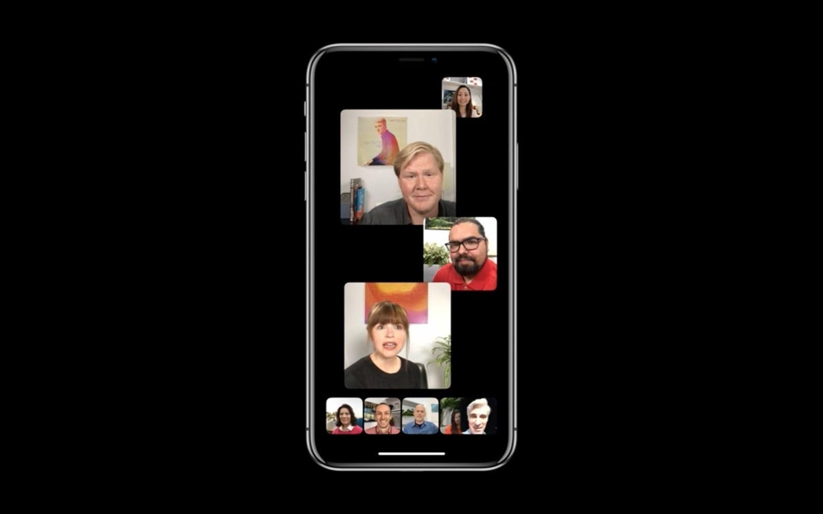 WWDC 2018. Apple представила новую быструю iOS 12. Все изменения (ios 12 group facetime 2)