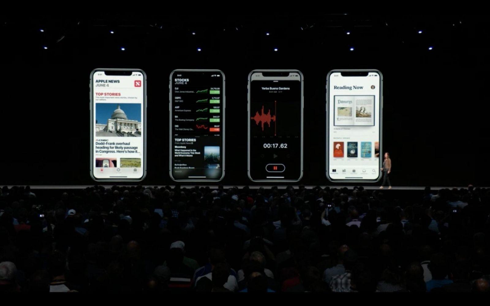 WWDC 2018. Apple представила новую быструю iOS 12. Все изменения (ios 12 ibooks)
