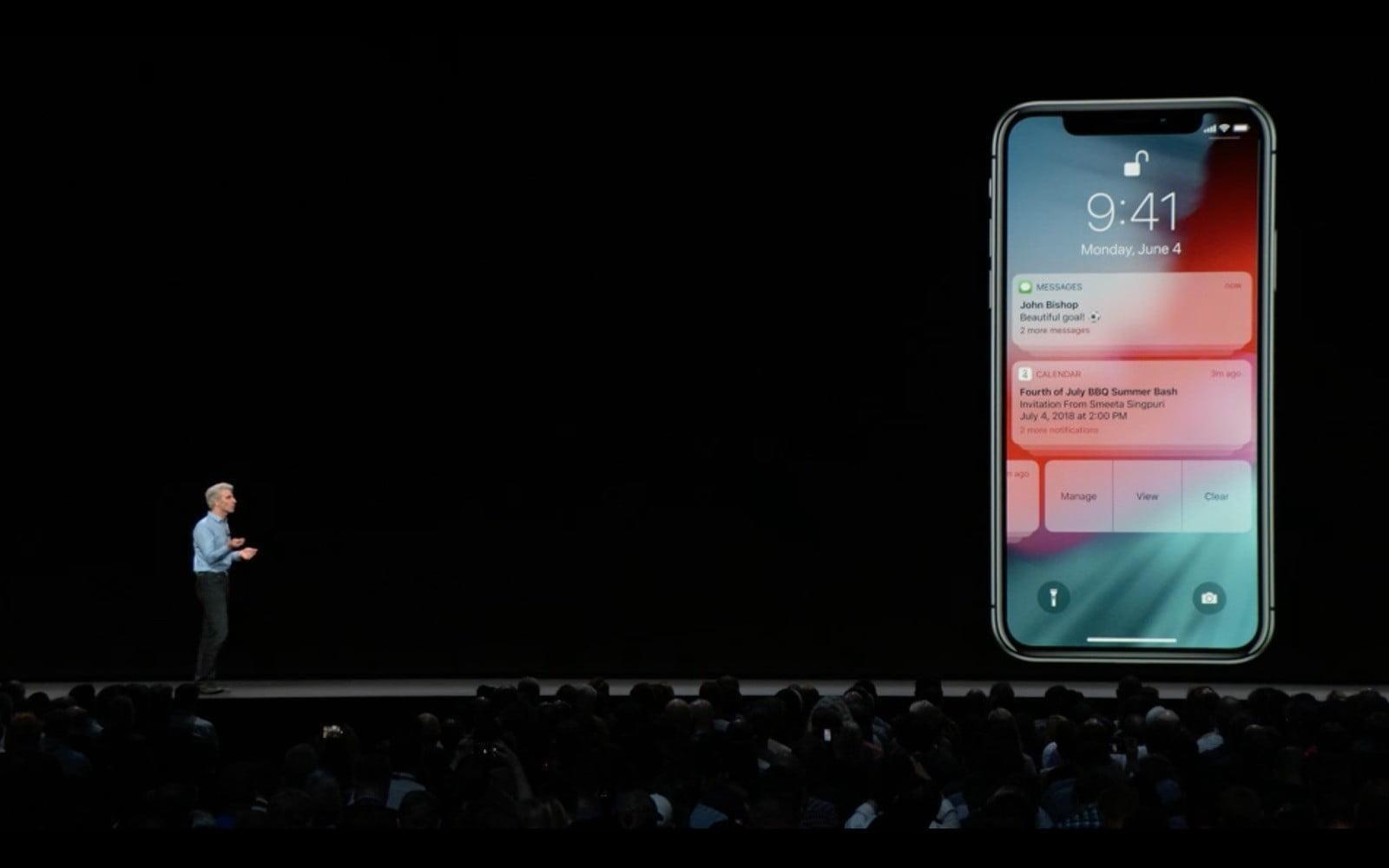 WWDC 2018. Apple представила новую быструю iOS 12. Все изменения (ios 12 notifications thread)