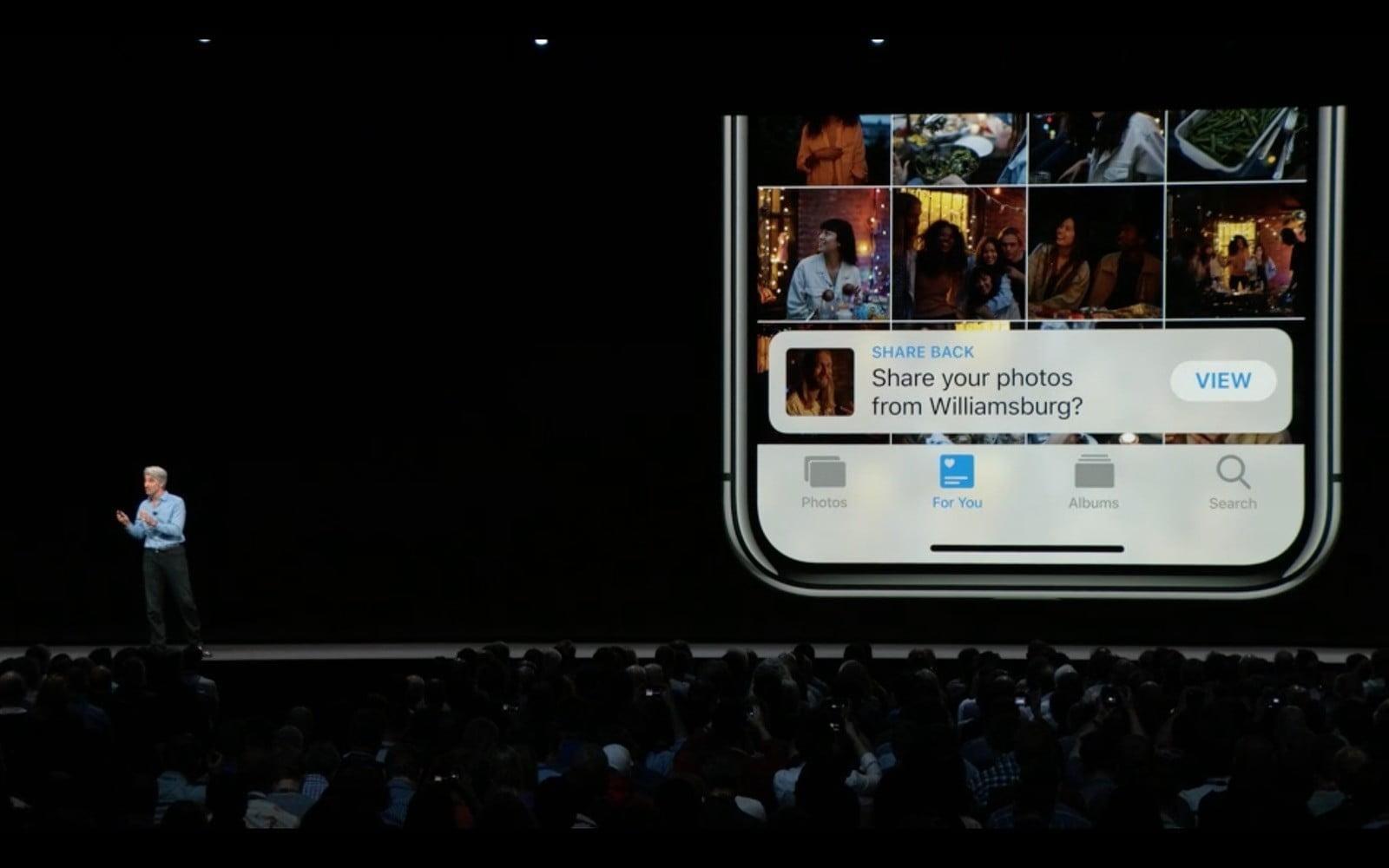 WWDC 2018. Apple представила новую быструю iOS 12. Все изменения (ios 12 photo sharing)
