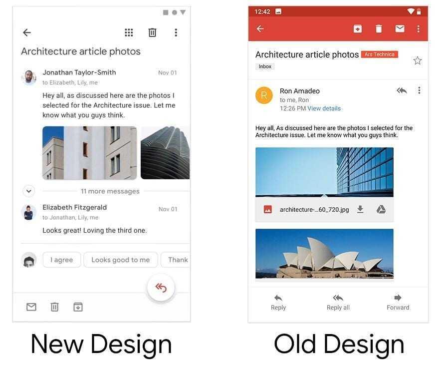 Дизайнер Google опубликовал видео с обновлёнными приложениями компании (3)