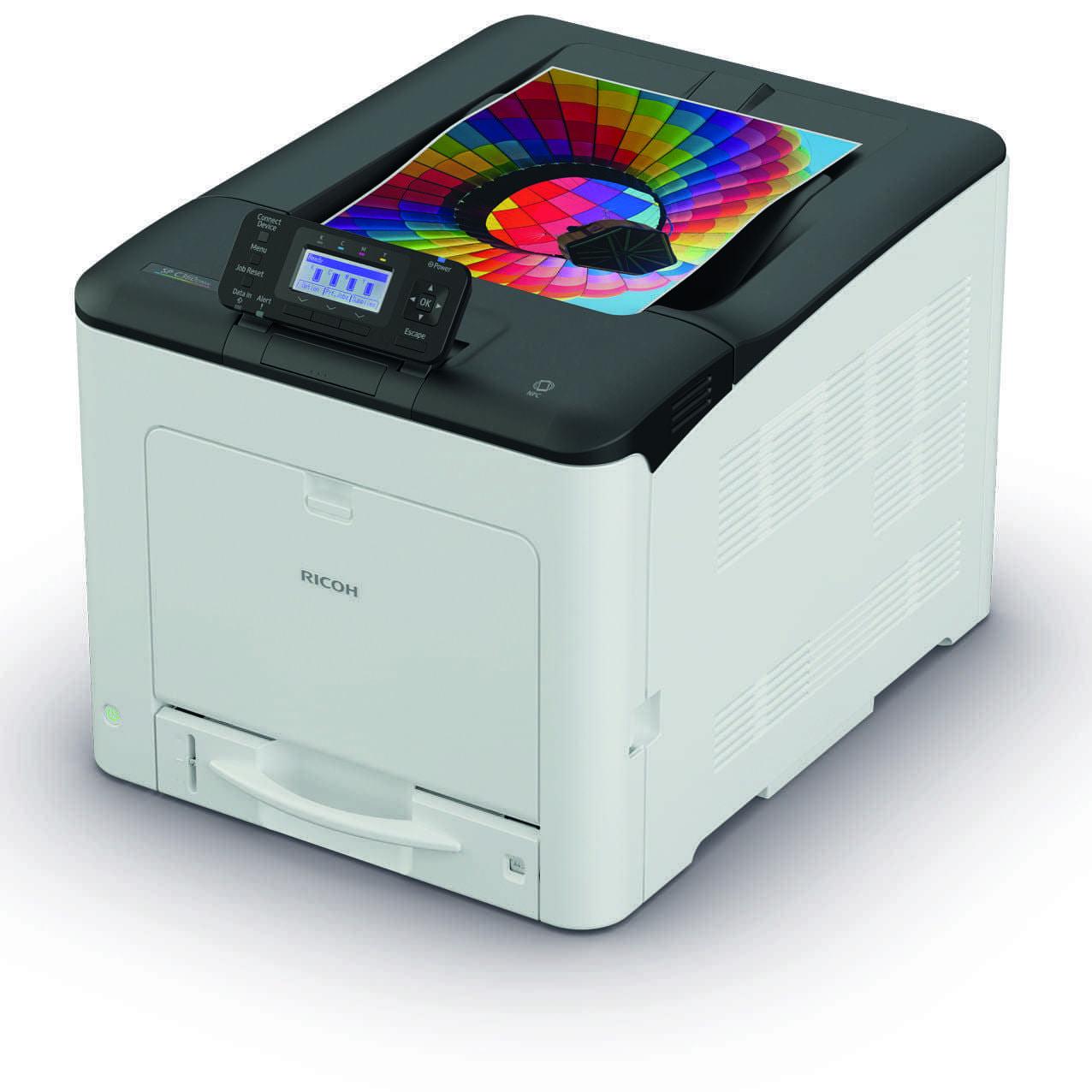 Ricoh выпустила новые быстрые устройства для малых офисов (C360DNw printer)