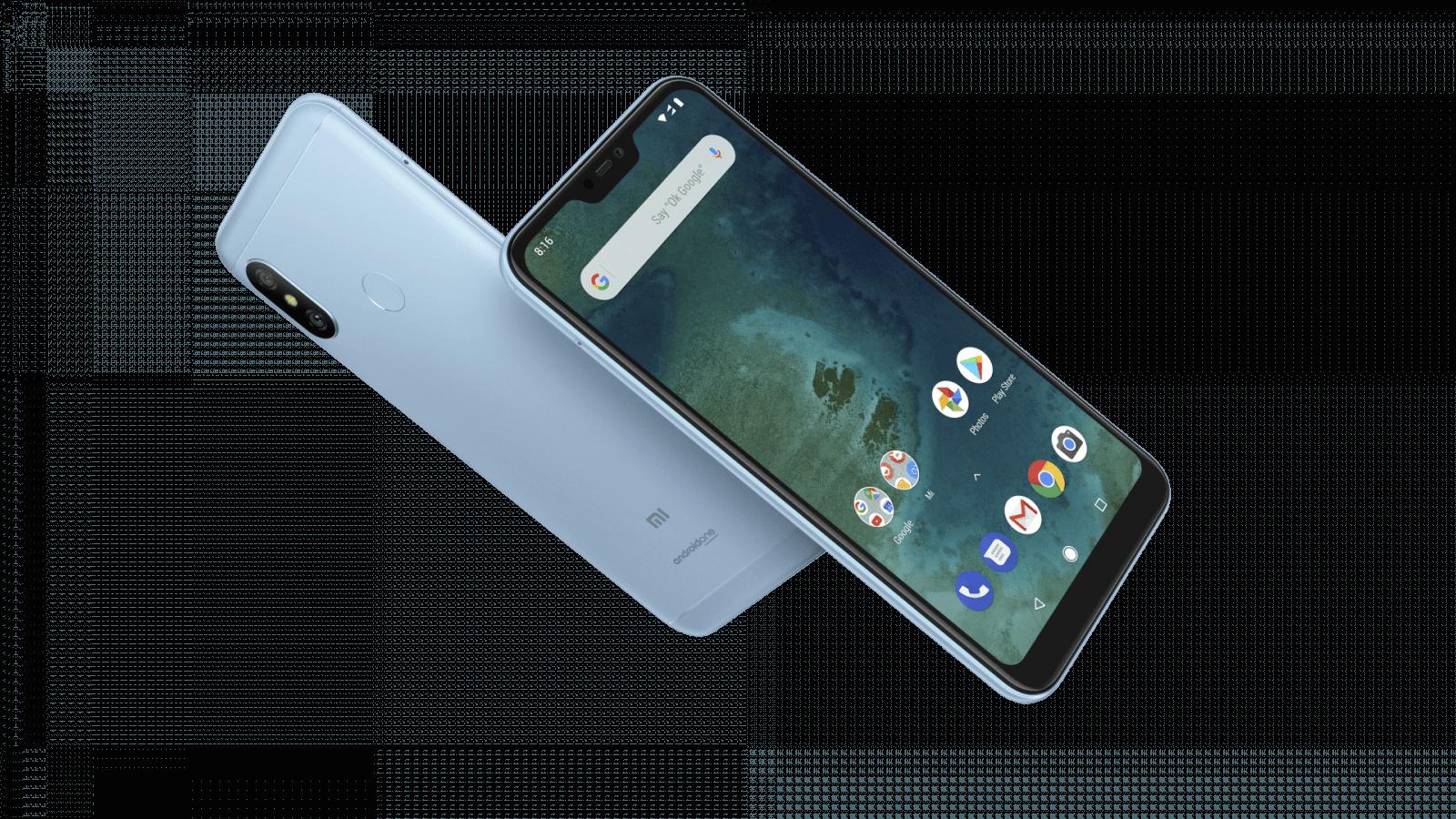 Xiaomi представила смартфоны Mi A2 и Mi A2 Lite (Mi A2 Lite 10)