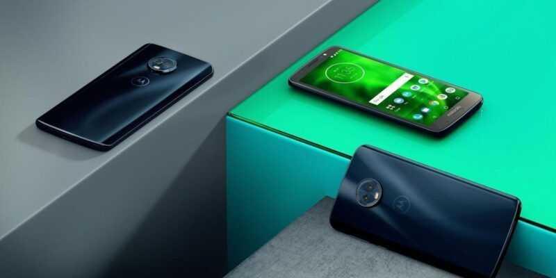 Motorola стартовала продажи смартфонов moto G6, E5 и E5 Plus в России (MotoG6 ROW DeepIndigo Insitu A)