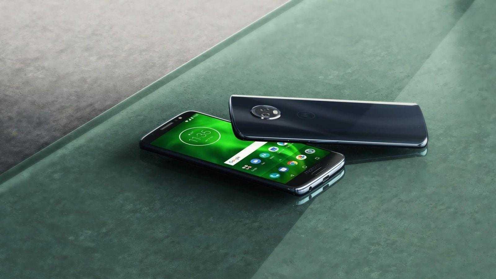 Motorola стартовала продажи смартфонов moto G6, E5 и E5 Plus в России (MotoG6 ROW DeepIndigo Insitu B)
