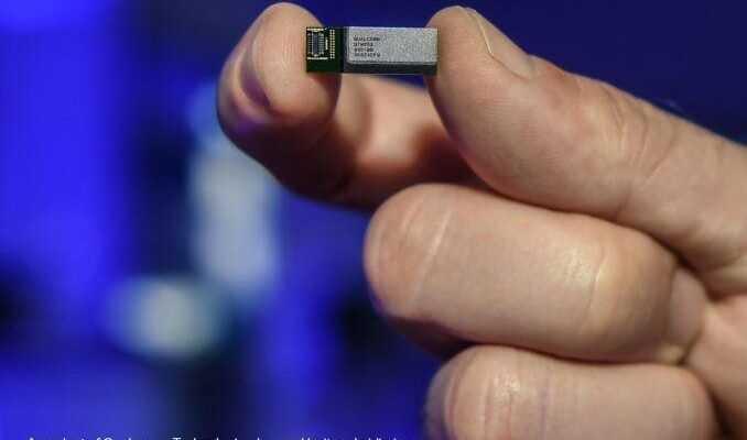 Qualcomm выпустит свой первый 5G модуль QTM052 в этом году (QC 052 Module Car 678x452)