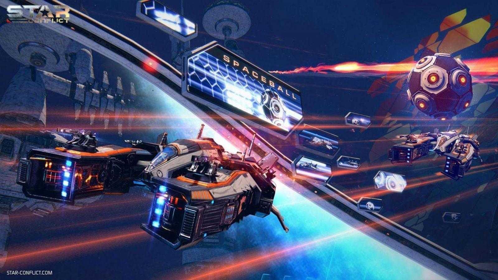 Космический футбол в Star Conflict открыт для всех (StarConflict Spaceball 2)