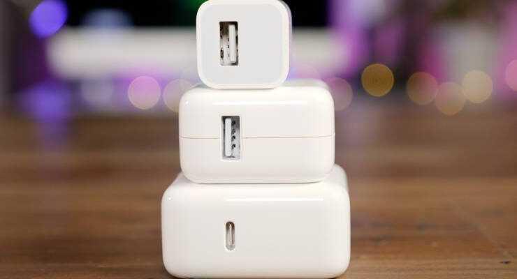 Слухи: Apple выпустит новую USB-зарядку для iPhone 2018 (charger.740w derived)