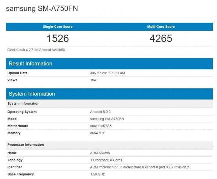 В сети появился загадочный Samsung Galaxy A (gsmarena 002 1 1)