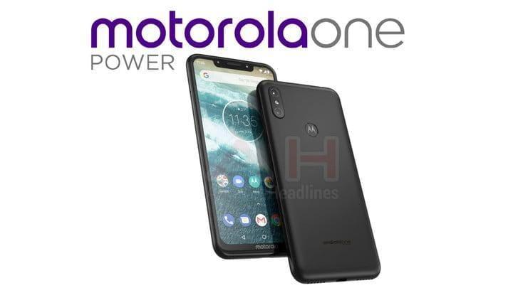 Motorola представит новый телефон с увеличенным аккумулятором (motorola one power android one ah 01)