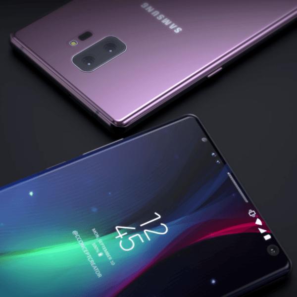 Samsung Galaxy Note 9 показали на фотографиях за две недели до презентации (note 9 concept creator render 10)