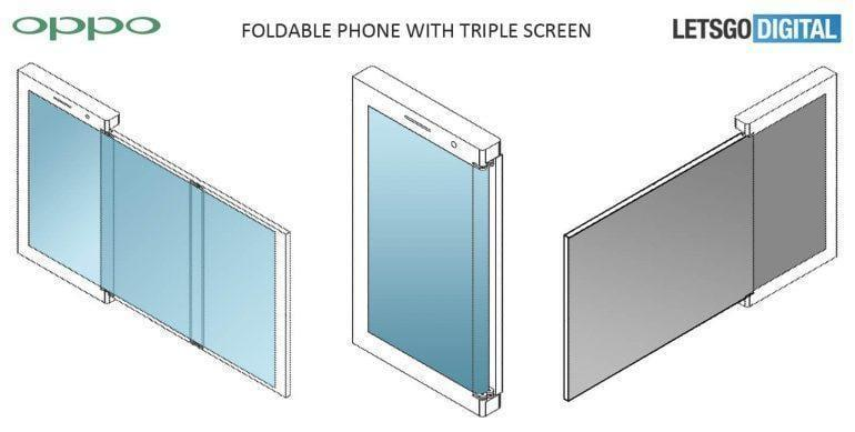 Oppo разрабатывает складной смартфон (oppo vouwbare smartphone)