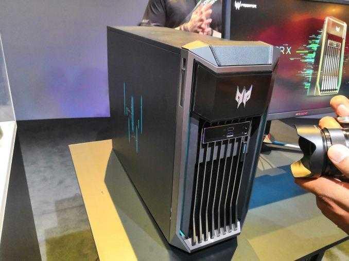 IFA 2018. Acer анонсировал компьютер Predator X на Intel Xeon (2018 08 29)