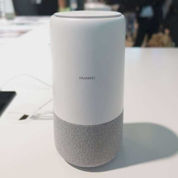 IFA 2018: Huawei представила «умную» колонку с голосовым помощником Alexa (Lz9SQESsw1BV)